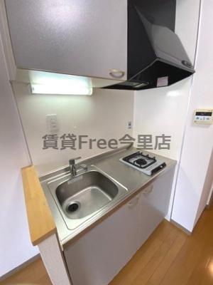 【キッチン】ハーティー玉造 仲介手数料無料