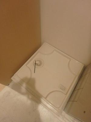 防水パン付室内洗濯機置場