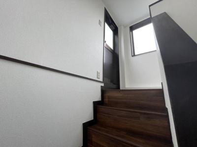 バルコニーまでの階段