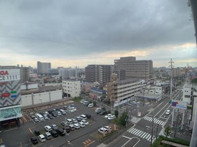 高い建物が少ないので眺望良好です。