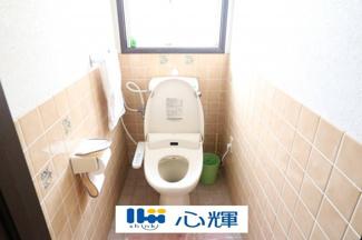 一階のトイレです。