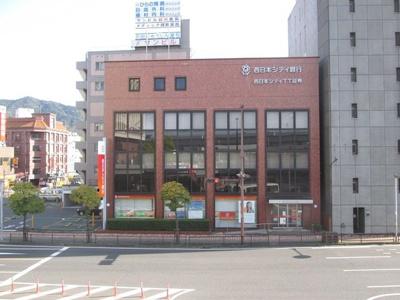 西日本シティ-銀行まで450m