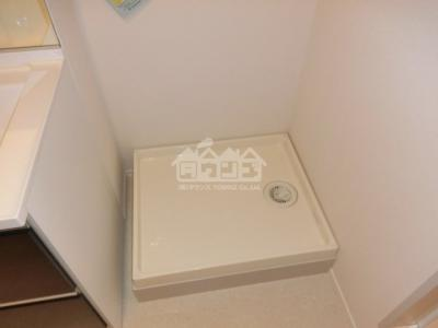 室内洗濯機置場・ヴィラ市谷台町