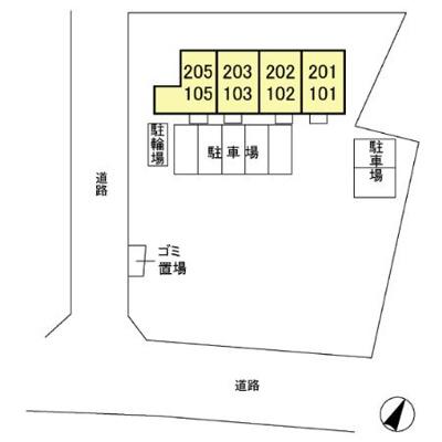 【区画図】クレセント