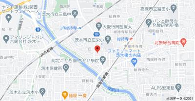 【地図】ピネスタウンC棟