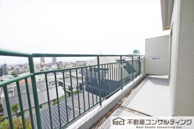 【居間・リビング】六甲パークハイツ