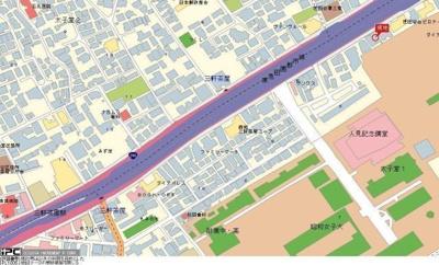 【地図】アピス三軒茶屋