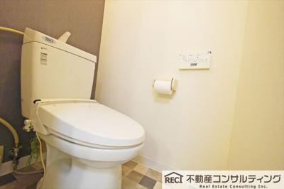 【トイレ】第二花隈ダイヤハイツ