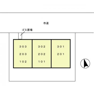 【区画図】シャレー馬橋