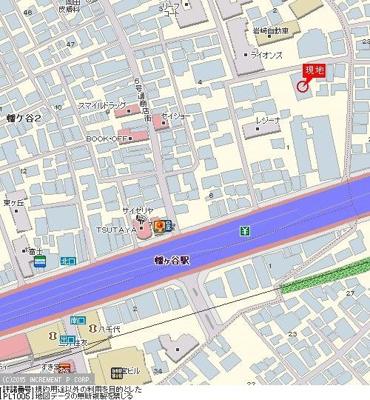 【地図】カーサアルハムブラ