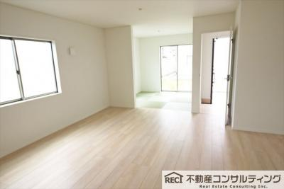 【居間・リビング】垂水区青山台5丁目 新築戸建 6号棟