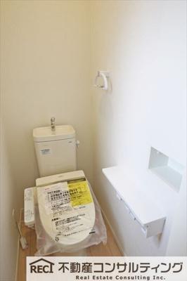 【トイレ】垂水区青山台5丁目 新築戸建 6号棟
