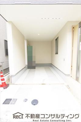【玄関】須磨区青葉町1丁目 新築戸建 1号棟