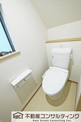 【トイレ】須磨区青葉町1丁目 新築戸建 1号棟