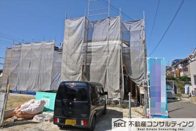 【外観】西区玉津町 新築戸建 1号棟