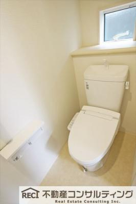 【トイレ】垂水区本多聞6丁目 新築戸建 2号棟