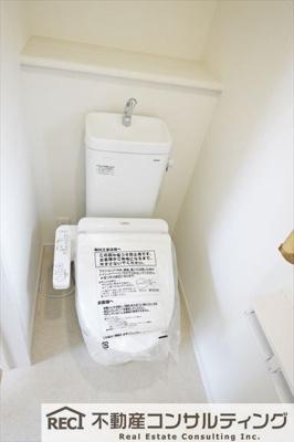 【トイレ】西区狩場台4丁目 新築戸建