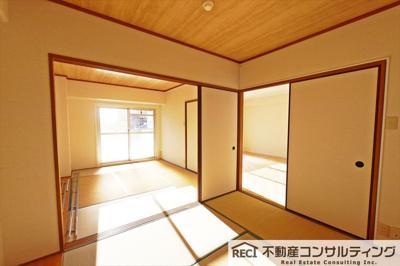 【寝室】セントラルハイツ湊川
