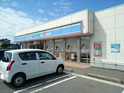ローソン富山新庄町南店まで450m