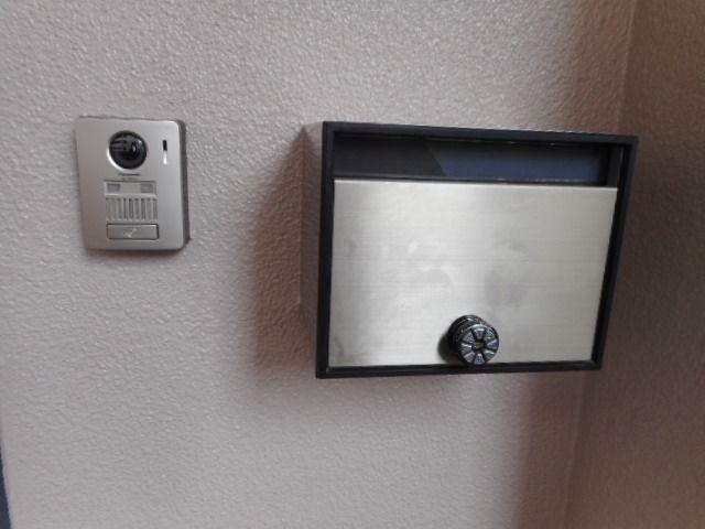 TVモニタ付ドアホンで安心・安全にお過ごしいただけます♪