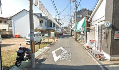 【前面道路含む現地写真】田尻町吉見 売土地