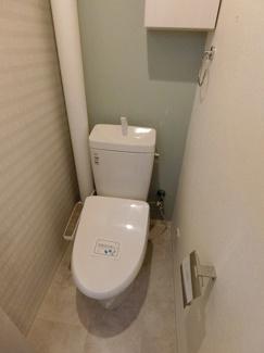 【トイレ】ローレルハイツ千里5号棟