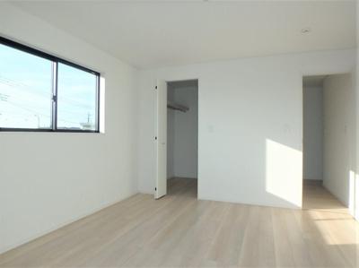 【寝室】クレイドルガーデン 新築戸建 羽生市西第7