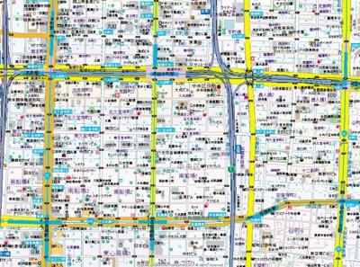 【地図】エステムコート大阪城南