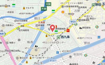 【地図】メルシー・ティー