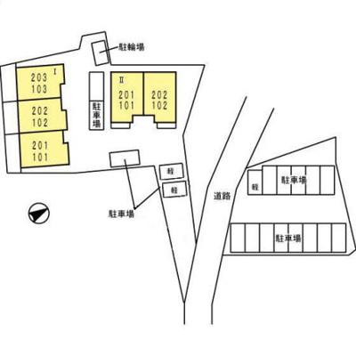 【区画図】プティシャンⅠ