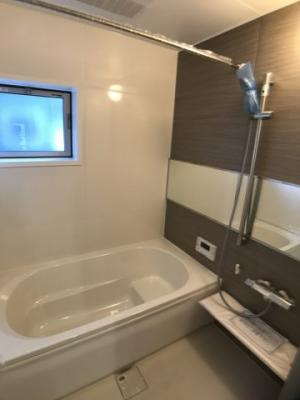 【浴室】つくば市台町1丁目 新築戸建 2号棟