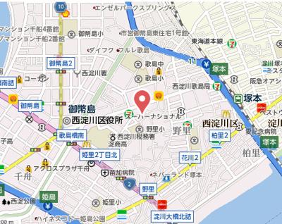 【地図】ルミエール野里