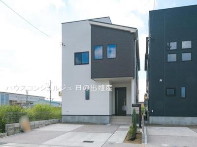 【外観】名古屋市港区大西1丁目46【仲介料無料】新築一戸建て