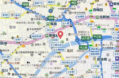 【地図】ザ・タワー大阪レジデンス