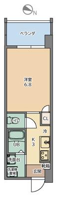 【外観パース】トーマス棚原Ⅱ