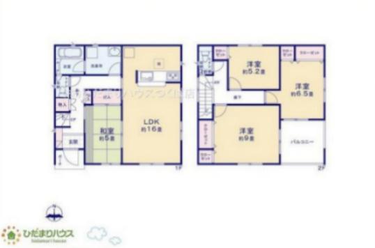 全居室収納付きで各居室の住空間もスッキリ広々使えそうです☆彡 小・中学校近くの立地で、お子様の通学も安心安全(*^^*)