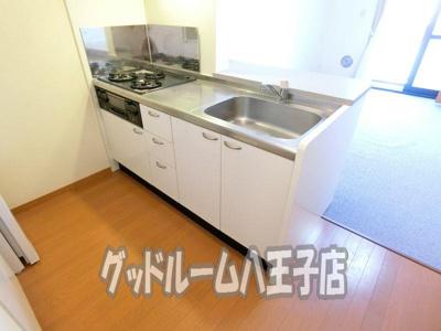 【キッチン】レオパレスコスモスカイ2