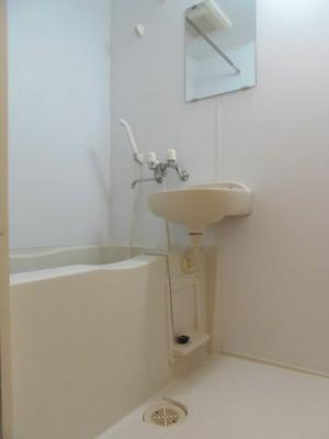 【浴室】レオパレス中川215