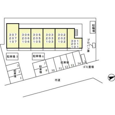 【区画図】トレビナ中浦和