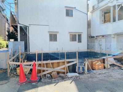 【外観】新宿区高田馬場 戸建