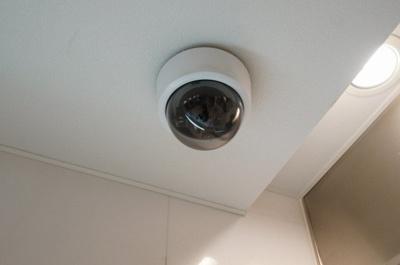 安心の防犯カメラ完備