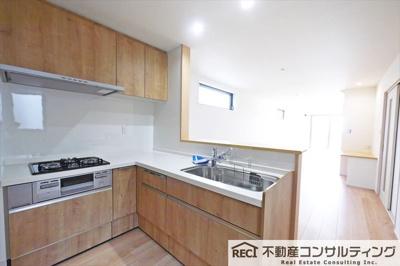 【キッチン】灘区篠原中町3丁目 新築戸建