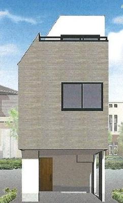 【外観】世田谷区中町5丁目 新築戸建