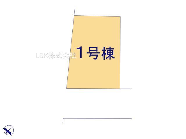 【区画図】新築戸建/富士見市渡戸3丁目(全1棟)