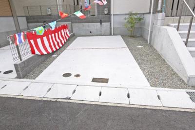 【前面道路含む現地写真】西区竹の台1丁目 新築戸建 1号地