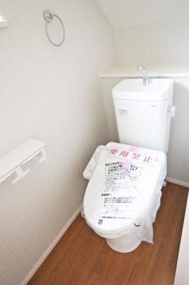 【トイレ】西区竹の台1丁目 新築戸建 1号地