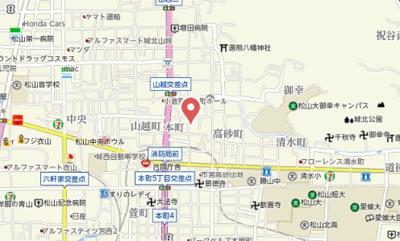 【地図】ラソンブレ木屋町Ⅱ
