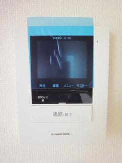 TVモニター付インターホン施工例です。