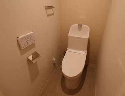 ライオンズヴィアーレ練馬春日町のトイレです。