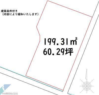 【区画図】高知市曙町(新築プラン)